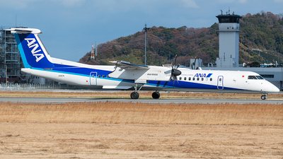 JA857A - Bombardier Dash 8-Q402 - ANA Wings