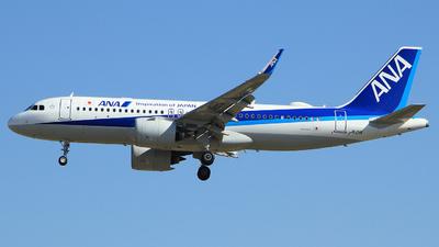 JA211A - Airbus A320-271N - All Nippon Airways (ANA)