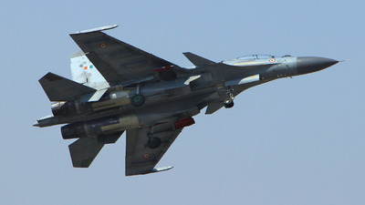 SB303 - Sukhoi Su-30MKI - India - Air Force