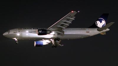 EP-MNM - Airbus A300B4-605R - Iran Air Tours