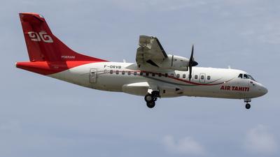 A picture of FORVB - ATR 42600 - Air Tahiti - © Rolf Jonsen