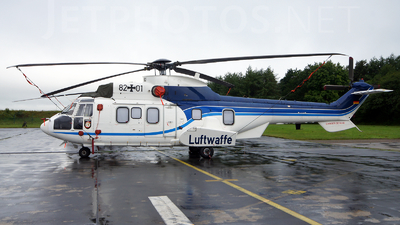 82-01 - Eurocopter AS 532U2 Cougar - Germany - Air Force