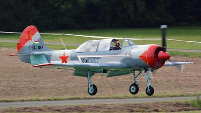 HA-NSF - Yakovlev Yak-52 - Private