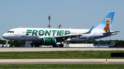 N329FR - Airbus A320-251N - Frontier Airlines