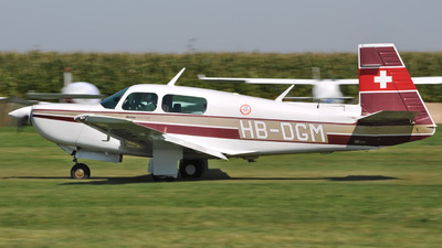 HB-DGM - Mooney M20K - Private