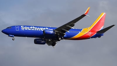 N8662F - Boeing 737-8H4 - Southwest Airlines