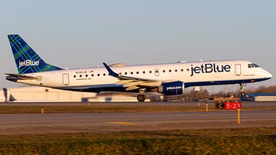 A picture of N283JB - Embraer E190AR - JetBlue Airways - © Elliott F Martin