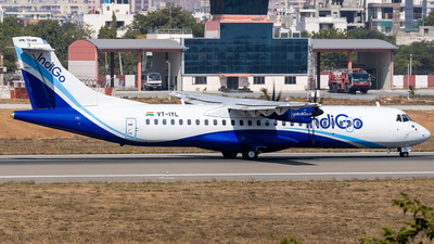 A picture of VTIYL - ATR 72600 - IndiGo - © Rohan Paliwal