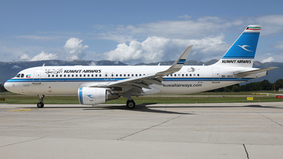 9K-AKK - Airbus A320-214 - Kuwait Airways