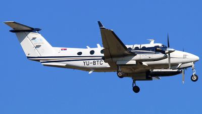 YU-BTC - Beechcraft B300 King Air 350 - Serbia and Montenegro - Air Traffic Services Agency (SMATSA)