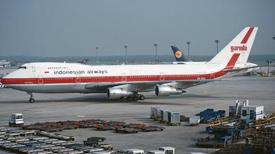 PK-GSA - Boeing 747-2U3B - Garuda Indonesia