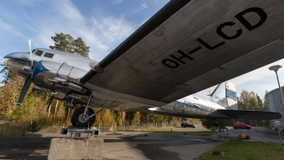 OH-LCD - Douglas DC-3 - Finnish Airlines