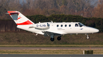 D-ILHB - Cessna 525 CitationJet 1 Plus - European Flight Academy