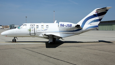9A-JSB - Cessna 525 CitationJet 1 - Jung Sky