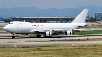A picture of N702CK - Boeing 7474B5(F) - Kalitta Air - © songxiuming