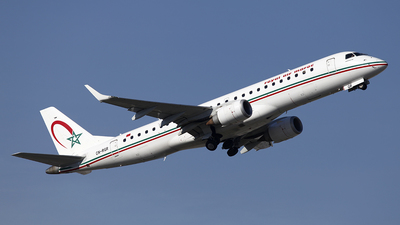 A picture of CNRGR - Embraer E190AR - Royal Air Maroc - © Manuel Llama - Benalmadena Spotters