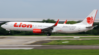 PK-LGZ - Boeing 737-9GPER - Lion Air