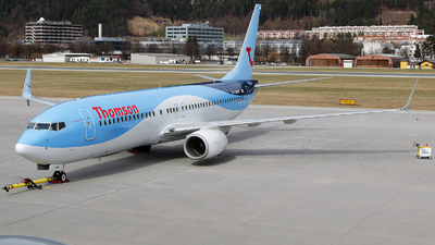G-TAWP - Boeing 737-8K5 - Thomson Airways