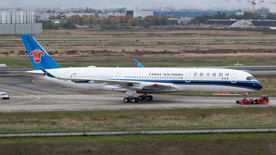 F-WZGT - Airbus A350-941 - China Southern Airlines