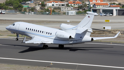 G-SPTX - Dassault Falcon 7X - Private