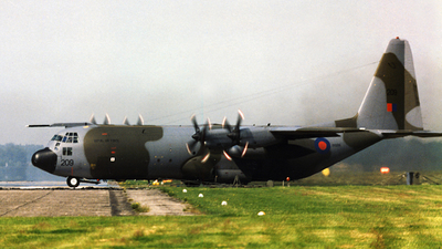XV209 - Lockheed C-130K Hercules - United Kingdom - Royal Air Force (RAF)