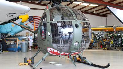 N259BK - Hughes 369C - Private