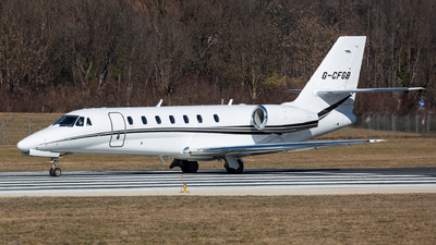 G-CFGB - Cessna 680 Citation Sovereign - Private