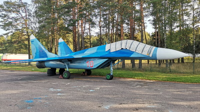 10 - Mikoyan-Gurevich MiG-29 Fulcrum - Belarus - Air Force