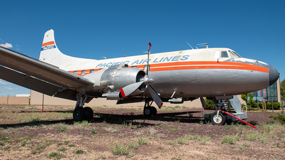 N636X - Martin 4-0-4 - Pacific Airlines
