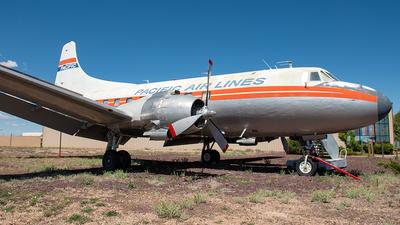 N636X - Martin 4-0-4 - Pacific Air Lines