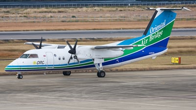 JA802B - Bombardier Dash 8-Q201 - Oriental Air Bridge