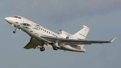 D-AGBF - Dassault Falcon 7X - VW Air Services