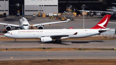 B-HYF - Airbus A330-342 - Cathay Dragon