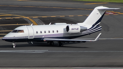 N411JE - Bombardier CL-600-2B16 Challenger 601-3A - Private