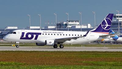 SP-LII - Embraer 170-200LR - LOT Polish Airlines