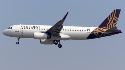 VT-TTJ - Airbus A320-232 - Vistara