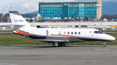 XA-GGS - Cessna Citation Latitude - Private