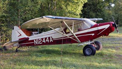 N1244A - Piper PA-18 Super Cub - Hudson Air