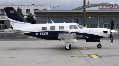 D-FCOB - Piper PA-46-500TP Malibu Meridian - Private