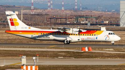 EC-HEI - ATR 72-212A(500) - Iberia Regional (Air Nostrum)