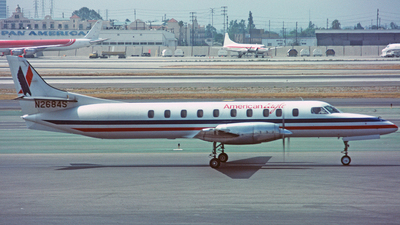 N2684S - Swearingen SA227-AC Metro III - American Eagle (Wings West)