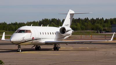 G-HOTY - Bombardier CL-600-2B16 Challenger 604 - Private