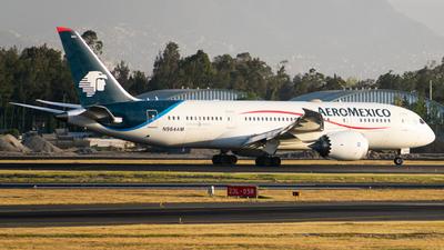 A picture of N964AM - Boeing 7878 Dreamliner - Aeromexico - © Arturo Quintero