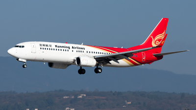 A picture of B6492 - Boeing 7378LY - Kunming Airlines - © Lazy Clutch