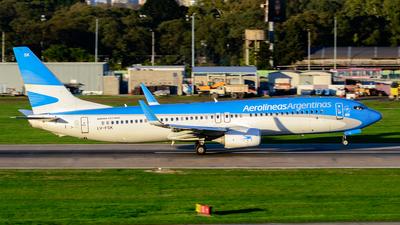 LV-FSK - Boeing 737-8BK - Aerolíneas Argentinas