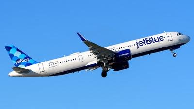 N2086J - Airbus A321-271NX - jetBlue Airways
