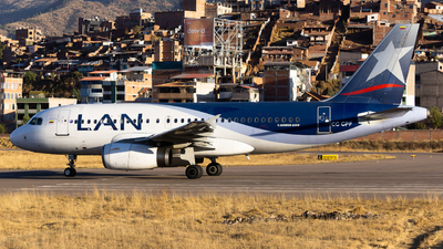 CC-CPF - Airbus A319-132 - LAN Airlines