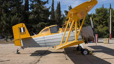 1221 - Grumman G-164 Ag-Cat - Greece - Air Force
