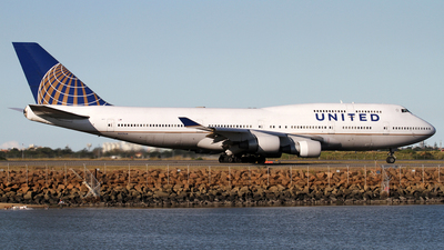 N177UA - Boeing 747-422 - United Airlines