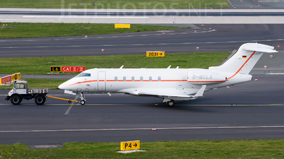 D-BCLA - Bombardier BD-100-1A10 Challenger 300 - Hapag-Lloyd Executive